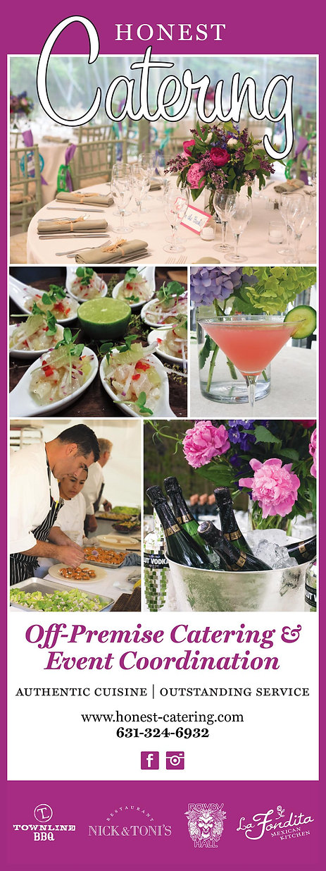 Honest Catering East End Weddings Events