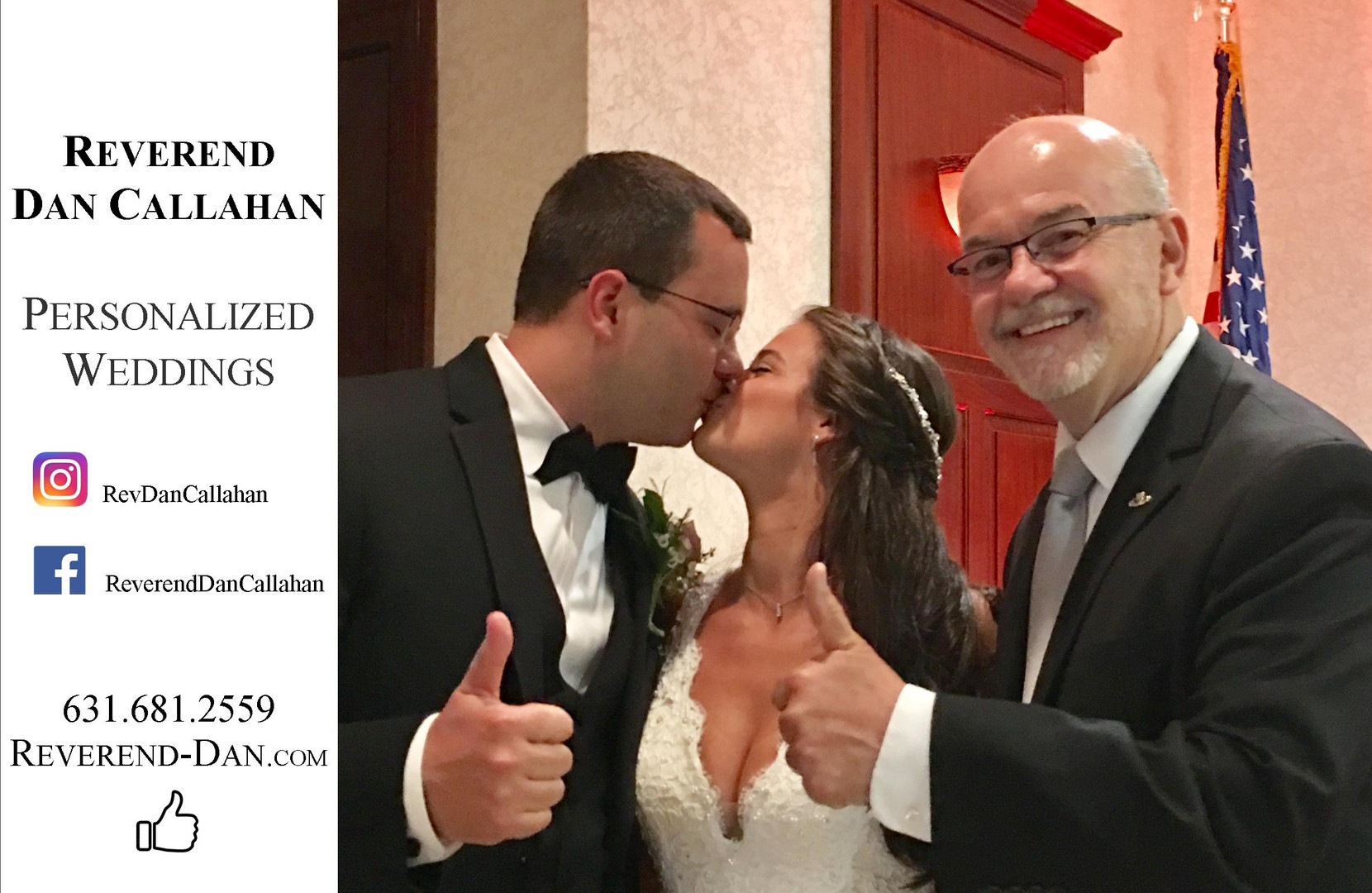 Reverend Dan Callahan Long Island Weddin