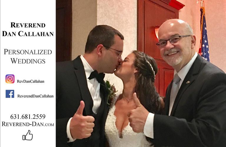 Reverend Dan Callahan Long Island Weddin