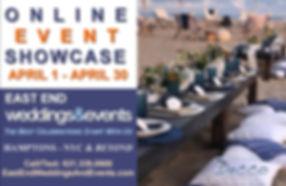 Online showcase wedding event Long islan