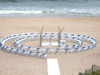 A NYC Job Interview Leads to a Montauk Wedding