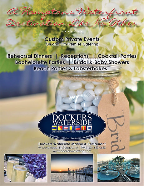 Dockers Waterside restaurant East end We