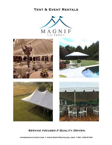 Magnifatent party rentals Hamptons North