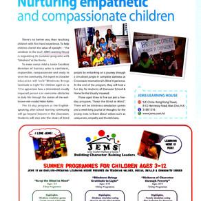 KIDS WORLD: Nurturing empathetic and compassionate children