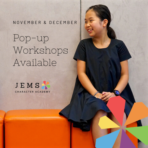 JEMS Pop-up Workshops 2019 Nov-Dec