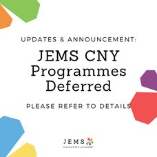 CNY Programmes Deferred