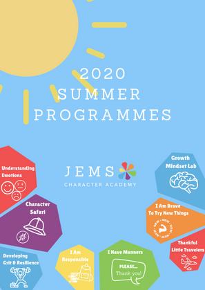 2020 Summer Programe A4