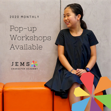 2020 Monthly Pop-up Workshops Announcements