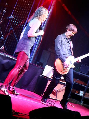 Karin Calde and Ross Burdick