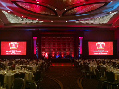 Boston Fire Department Gala (Sound, Lighting, Video Projection, Camera Package)