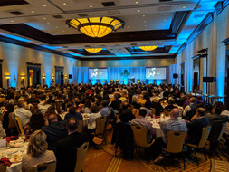 SNEMN Banquet (Sound, Lighting, Video Projection, Pipe & Drape, LED Video)