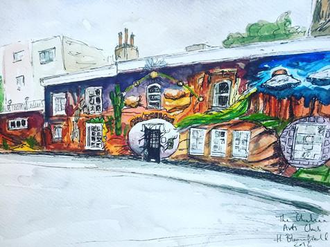 Chelsea Arts Club, Space