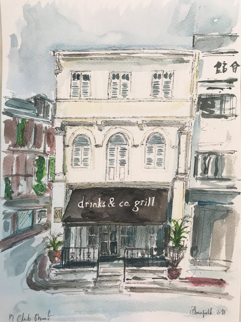 Club Street, Singapore