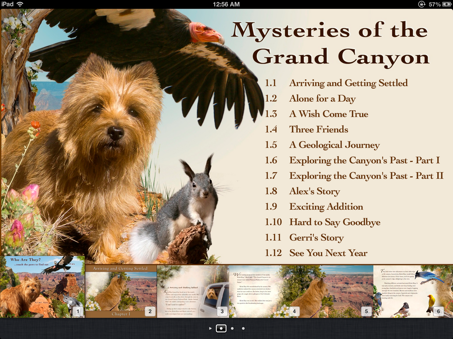 Mysteries of the Grand Canyon chapter page.PNG