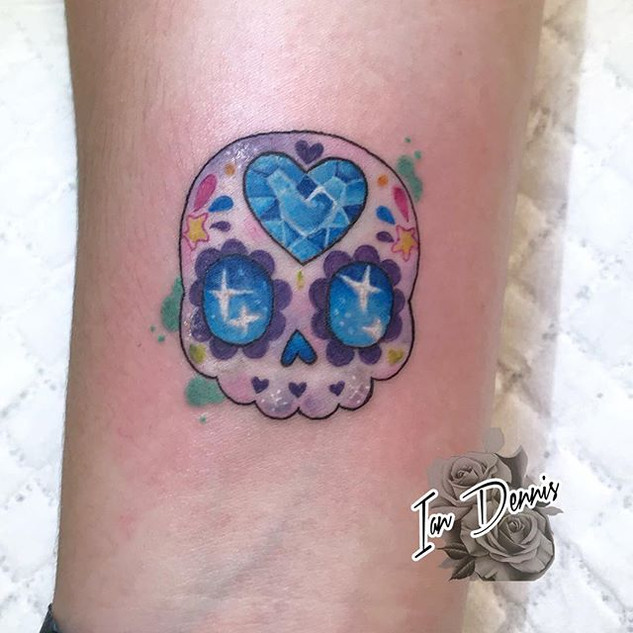 Another small tattoo.  This one was supe