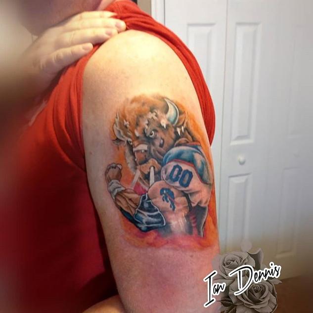 Buffalo Bills Beast._#tattoo #buffalo #b