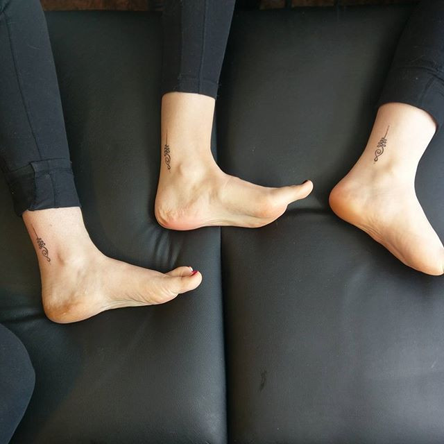 Matching Ankle Tattoosjpg