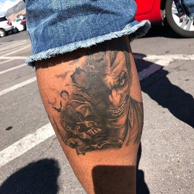 Here it is all healed _#thejoker #joker