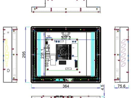 TPN150 15인치 일체형 컴퓨터