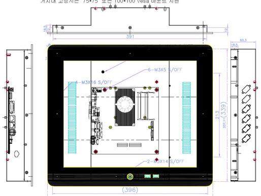 CTPN170 17인치 일체형 컴퓨터