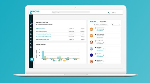 Groove: Salesforce activity syncing, tracking, scheduling, and more