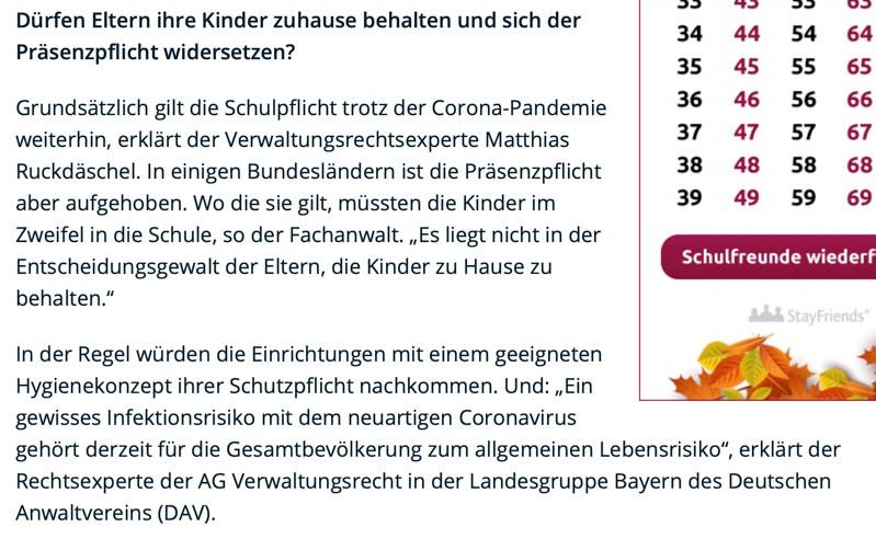 Corona in NRW: Was Eltern tun können, wenn Kinder in die Schule müssen