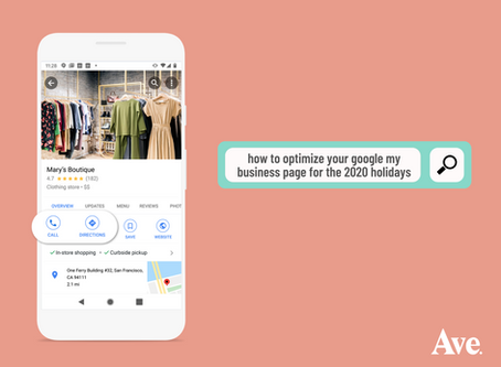 How to Optimize Your Google My Business Page for the 2020 Holidays