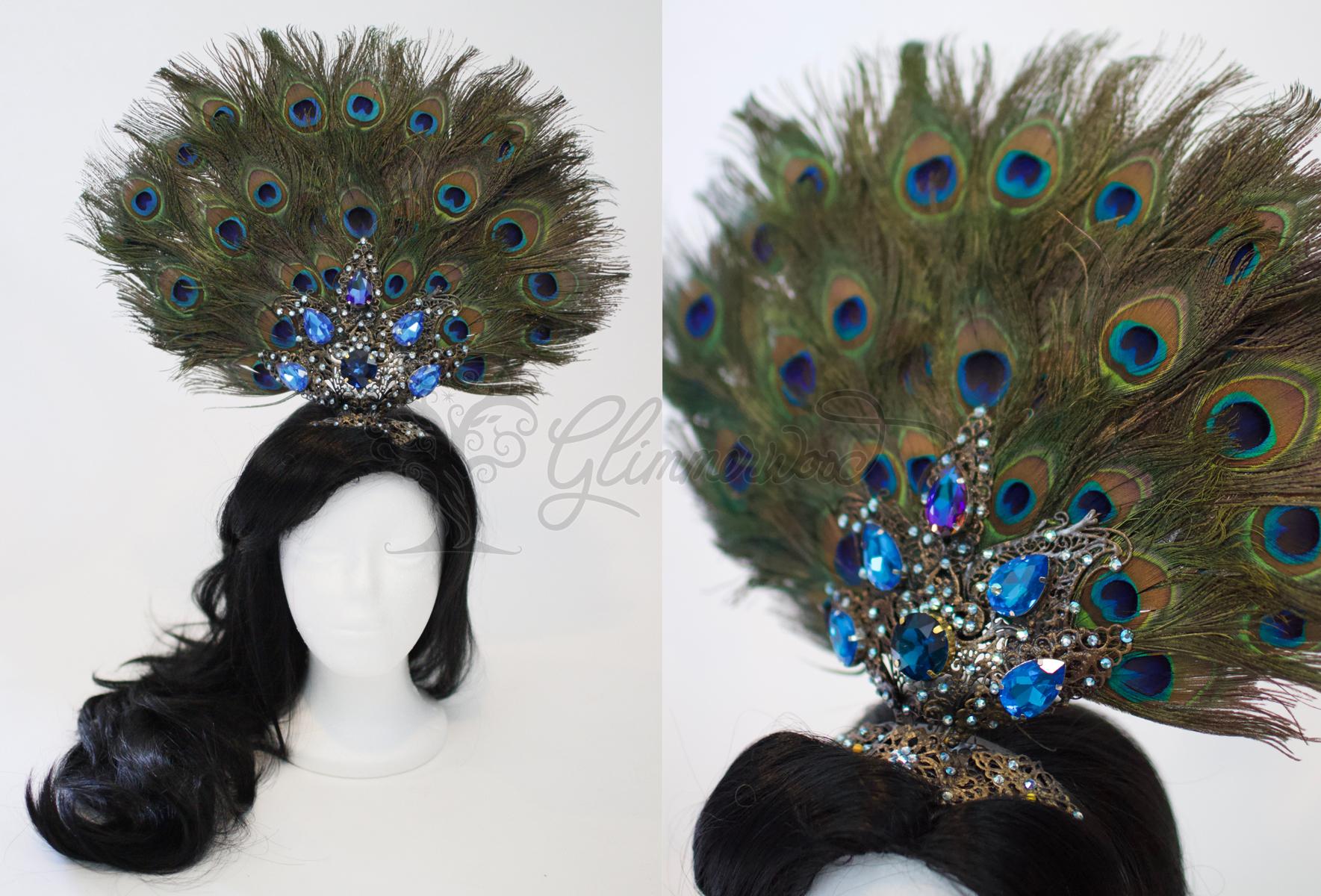 Designer Jasmine Headdress