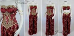 Red Arabian Princess