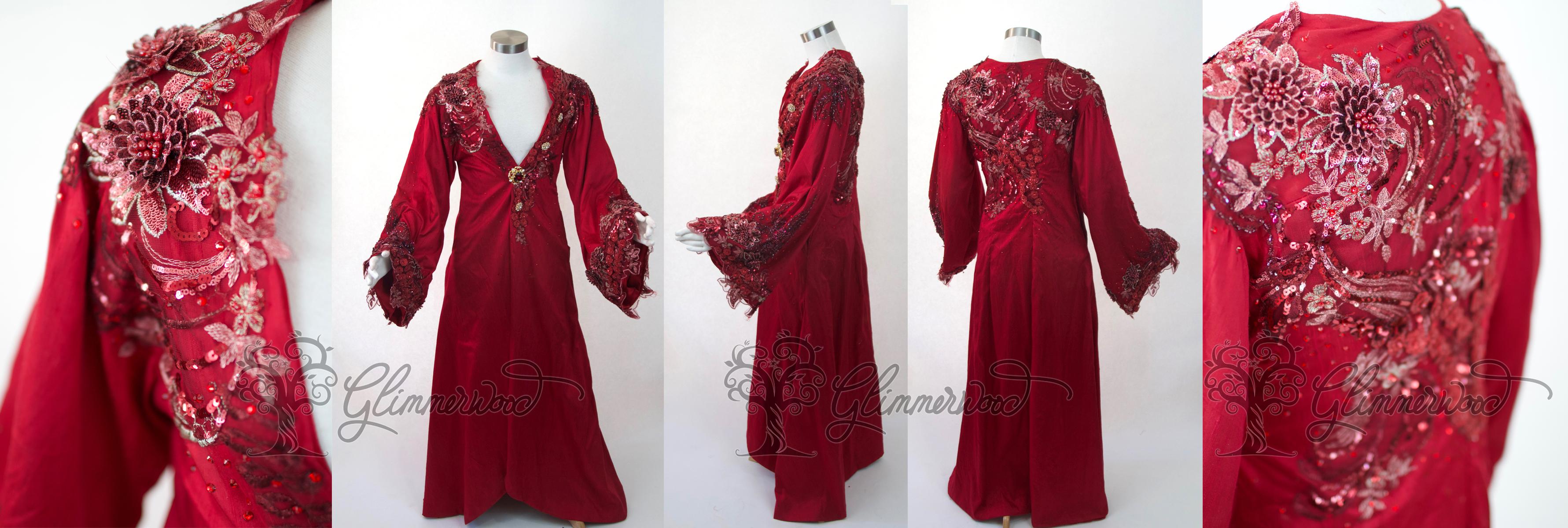 Red Jasmine Robe