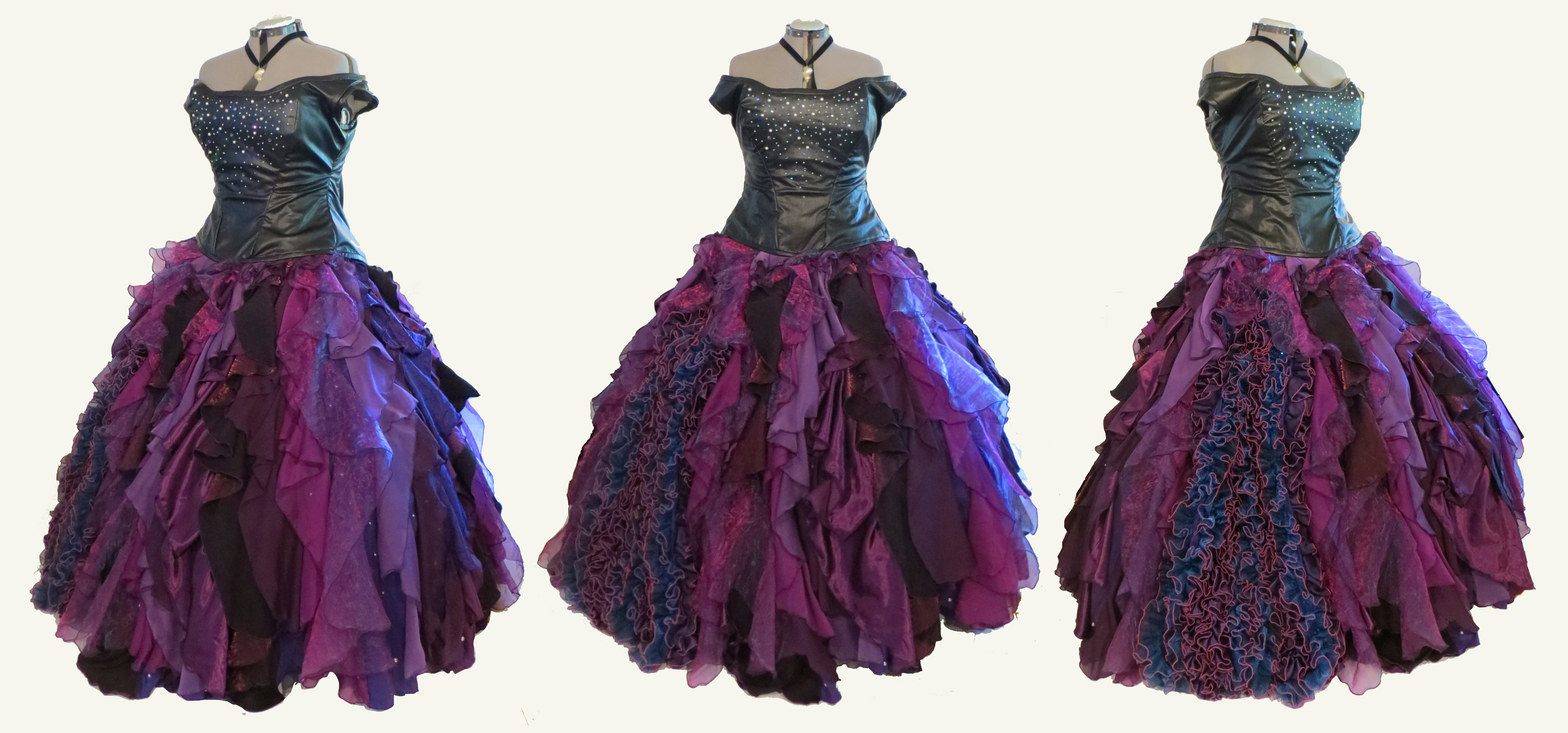 Sea Witch Ball Gown