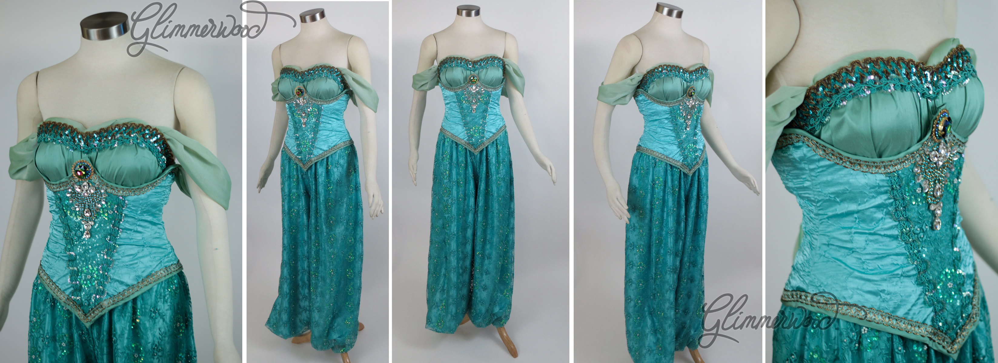 Modest Arabian Princess in Mint