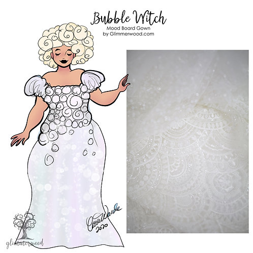 Bubble Witch: Mood Board Gown