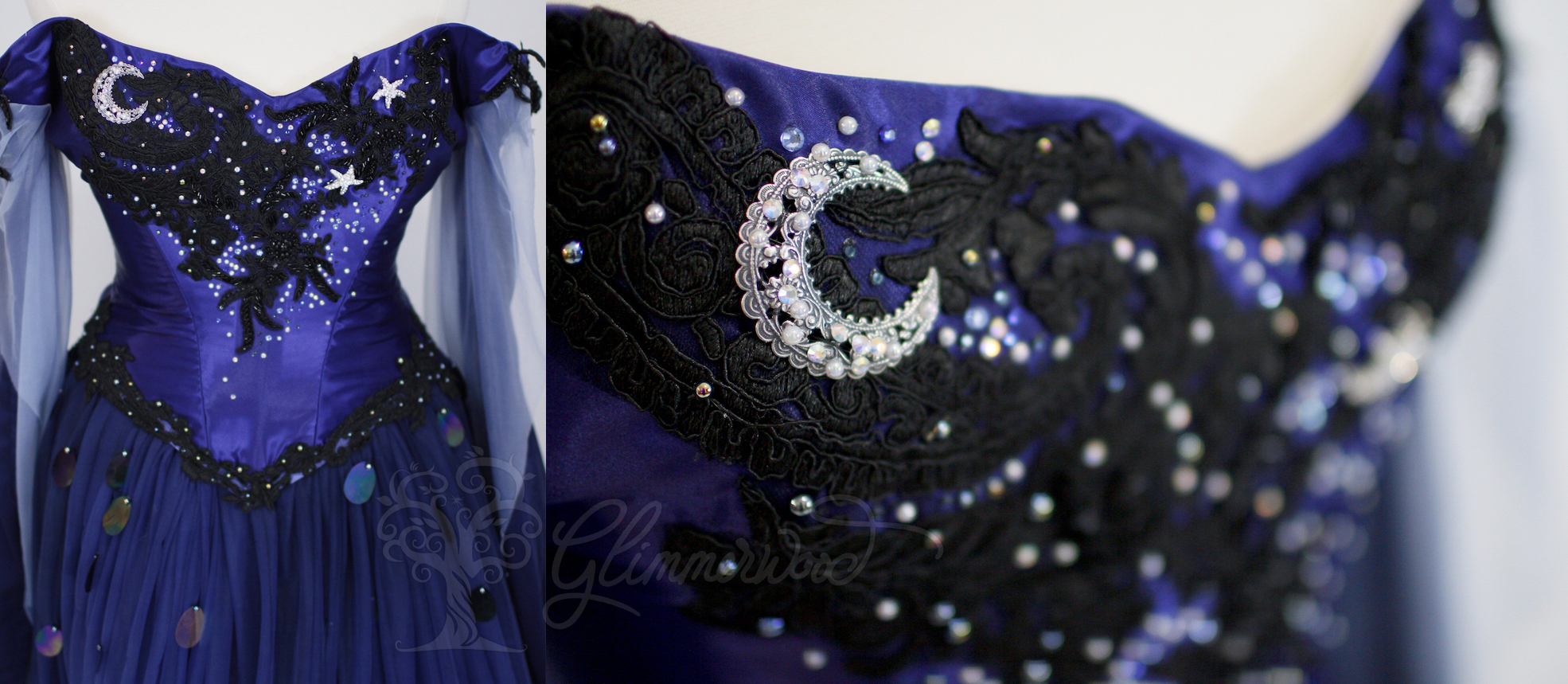 Lunaria Moon Mermaid Details