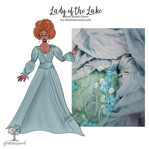Lady of the Lake: Mood Board Gown