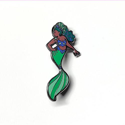 Isla Mermaid Enamel Pin