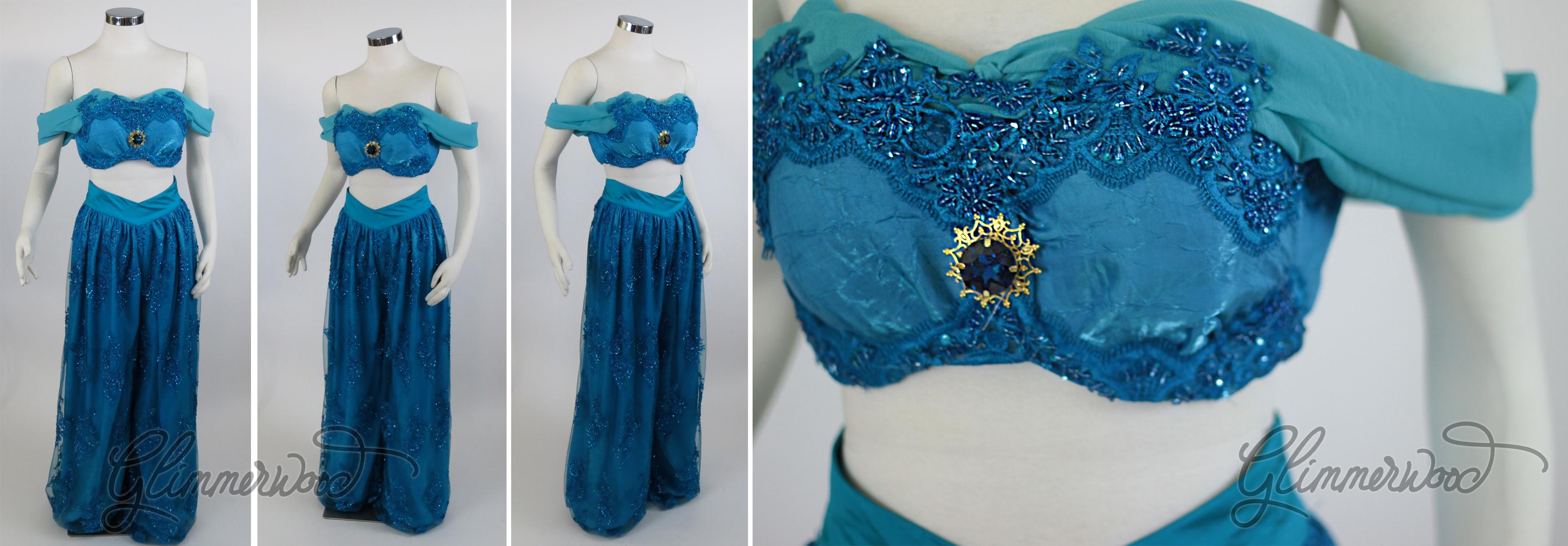 Arabian Princess in Blue