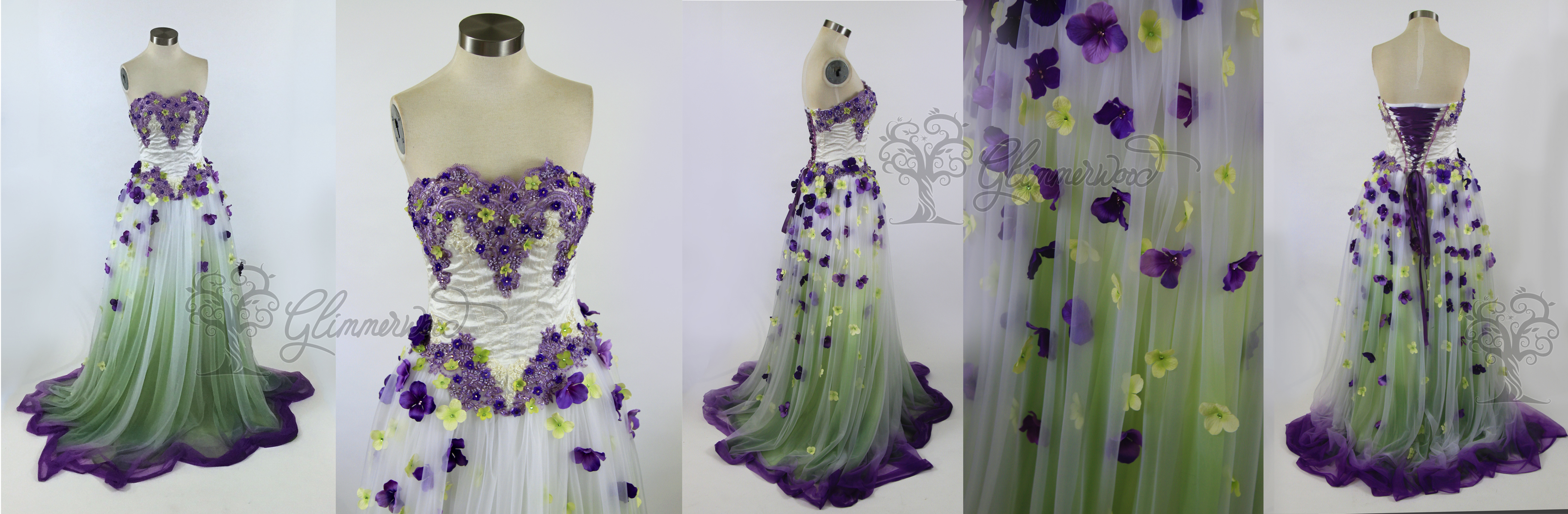 Wisteria Wedding Gown