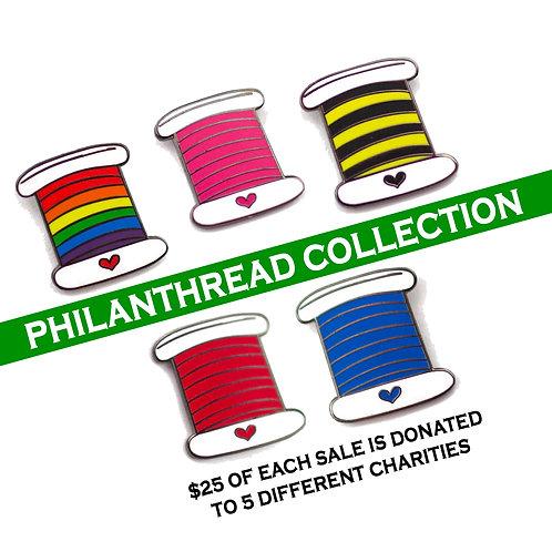 Philanthreads Enamel Pin Set