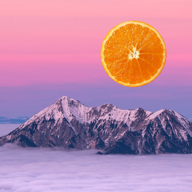 'Orange Sunset II'
