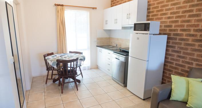 Delux twin room Kitchen