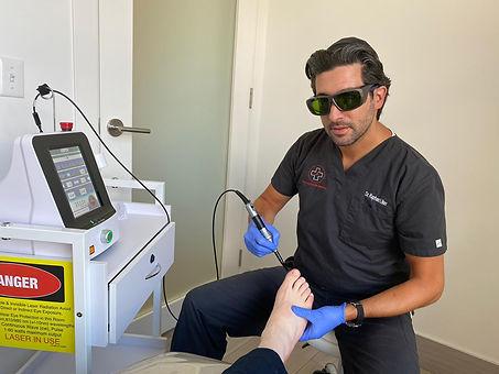 Laser Nail Fungus Treatment Photo