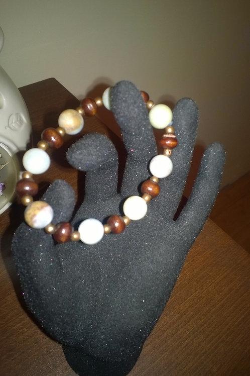 7 inch stretch Amazonite bracelet
