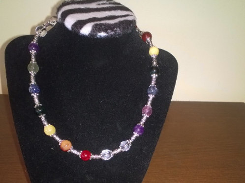 18 inch chakra healing Necklace