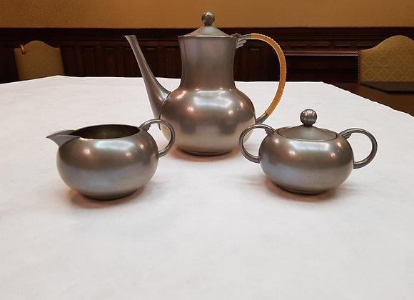 Pewter Tea Ensemble