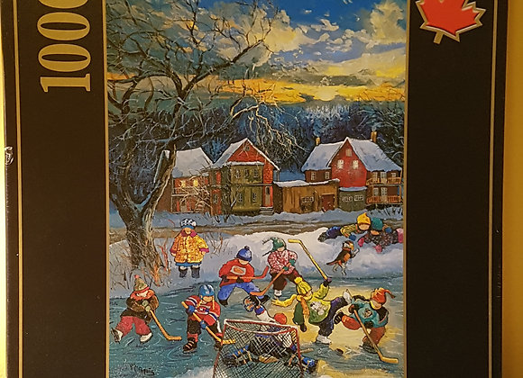 Ravensburger Puzzle 1000 pieces: Playing Hockey