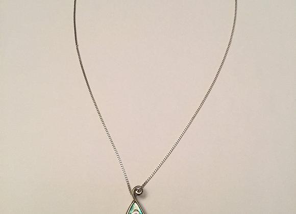 Ariki Paua Shell necklace