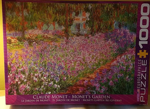 Eurographic Puzzle 1000 pieces: Monet