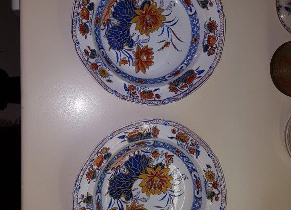 Pair of soup bowls