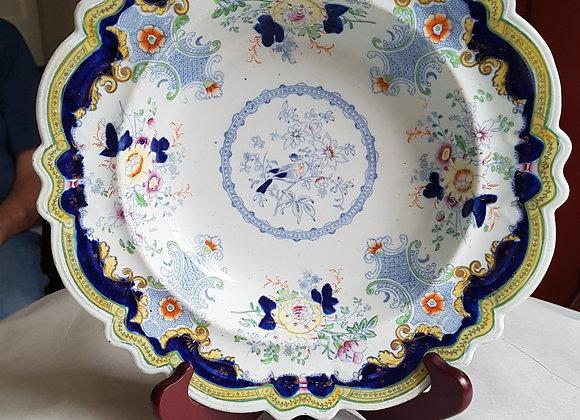 19th c. Soup bowl